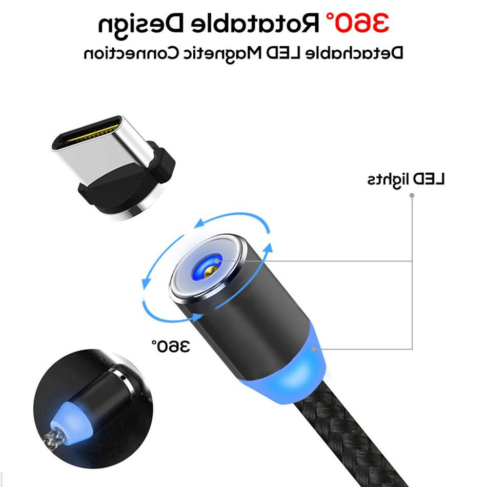 360 Cable for 7 Mobile Magnet Type