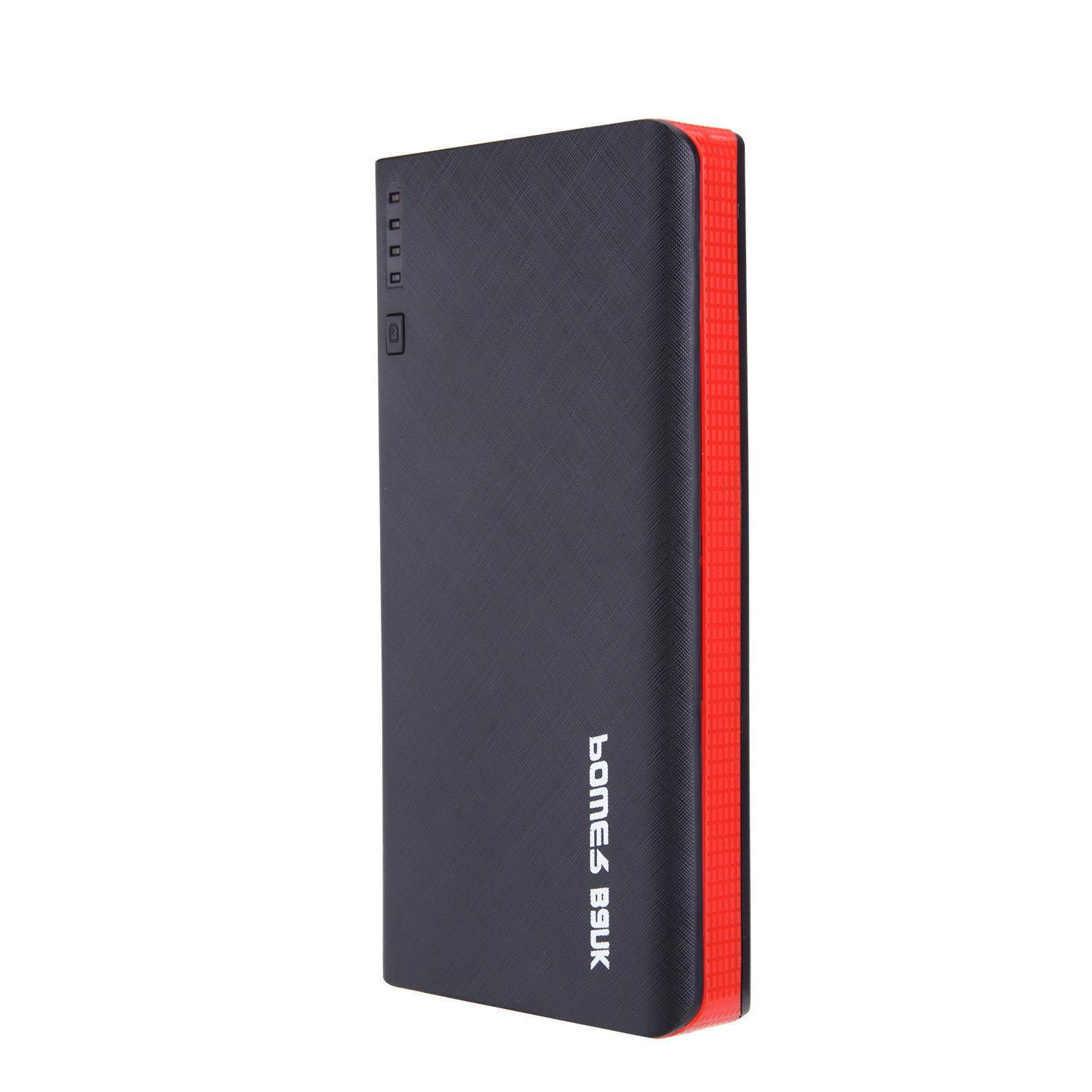900000mAh 4 External Power Bank LED Charger for Cell Phone