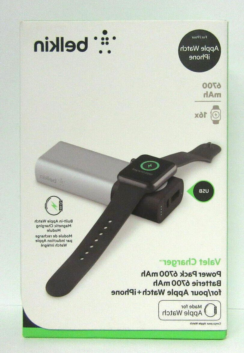 Belkin - Valet 6700 Mah Portable Charger For Most Apple&copy