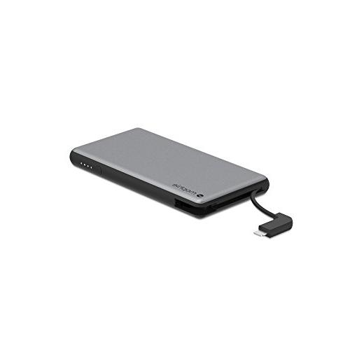 Mophie - Plus 6000 Mah Portable Charger For - Gray