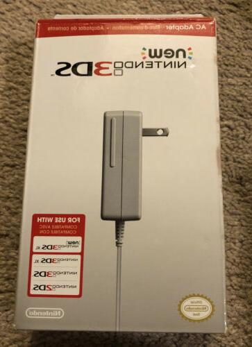 Nintendo 3DS Compatible with 3DS / 3DS XL / 2DS AC Adapter