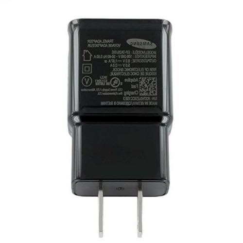 OEM Samsung Adaptive Wall Adapter Galaxy S8 8 10 - Black