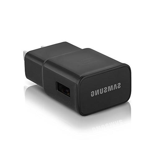 OEM Samsung Wall Adapter for Galaxy S8+ 8 + 10 Foot C/USB-C - Black