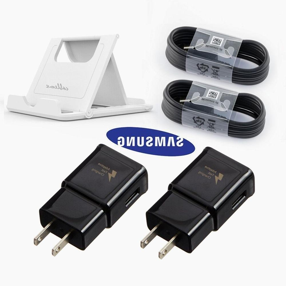LOT OEM Samsung Galaxy Note 9 S8 S9 Plus Fast Wall Charger P