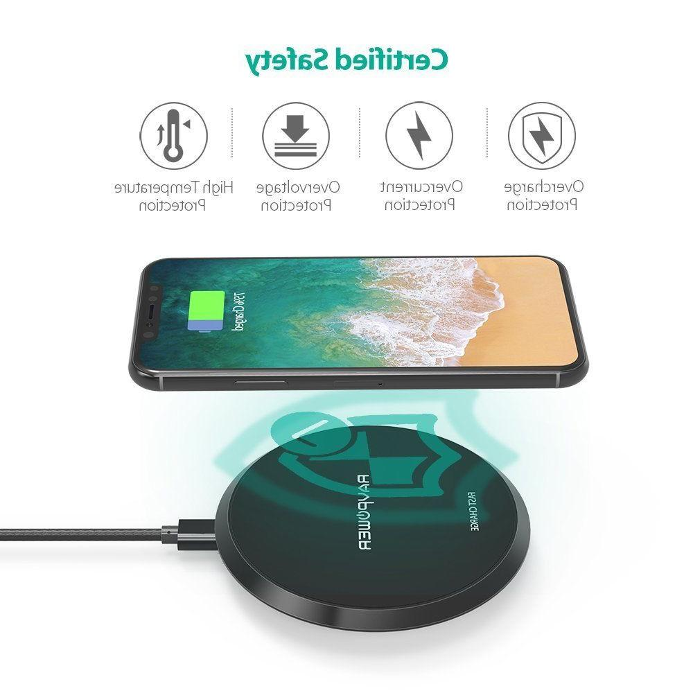 Wireless RAVPower QI Charging for iPhone