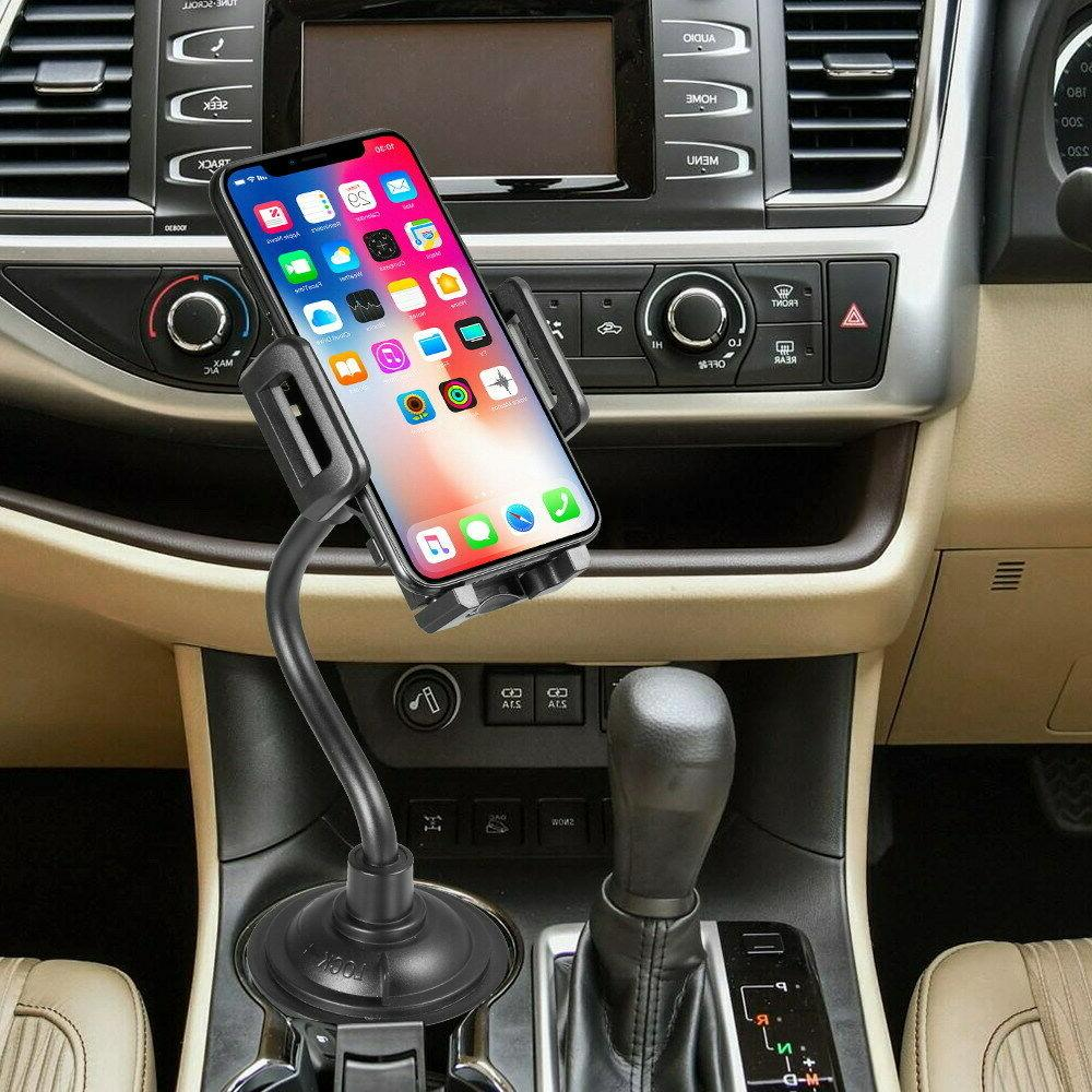Car Cup for iPhone 6 Xr Samsung 9 Cell Phone