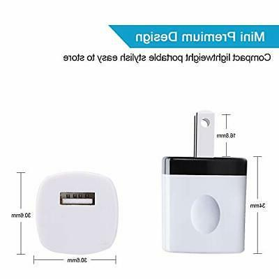 Fast Charging Phone USB Cube iPhone 5 Pack