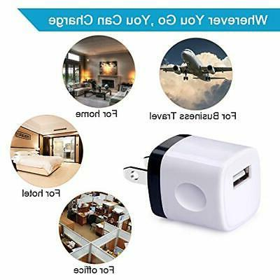 Fast Charging USB Charger Cube iPad 5 Pack