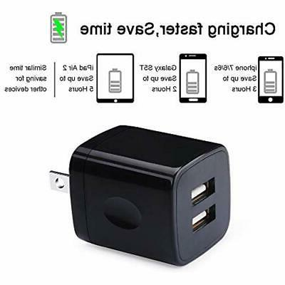 Charging Wall 2-Pack Dual Universal Fast