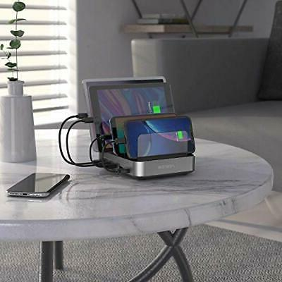 Charging Station for Devices - 5-Port 50W 10A