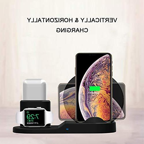 SingDeRing Compatible 1 QI Station for Watch Xs/XS MAX/XR/X/8/8