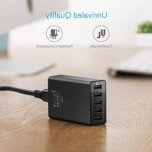 Anker USB Charger USB to for Samsung HTC,