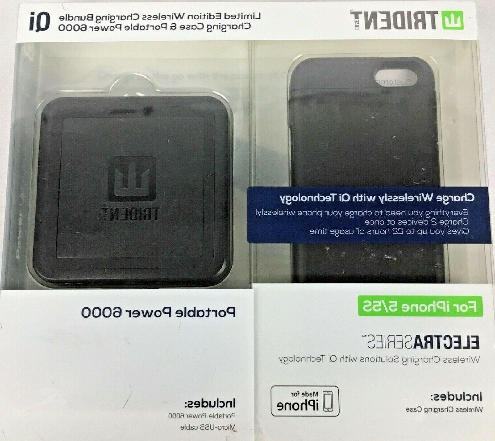 Trident iPhone / S Portable Charger Bundle 6000