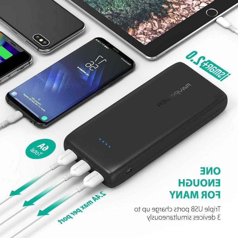free shippng 32000mah power banks 6a output