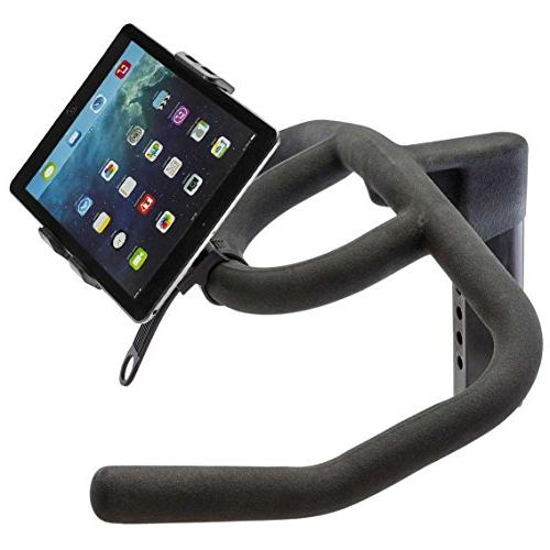 ChargerCity HDX2 Mount for InDoor Treadmill Exercise Bike Helm w/Tablet & Holder for Apple Air XS Plus Galaxy S9