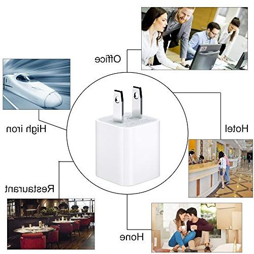 iPhone Charging Power Data Charge Sync Cable Compatible Plus/6s/6 Max/iPad/iPod