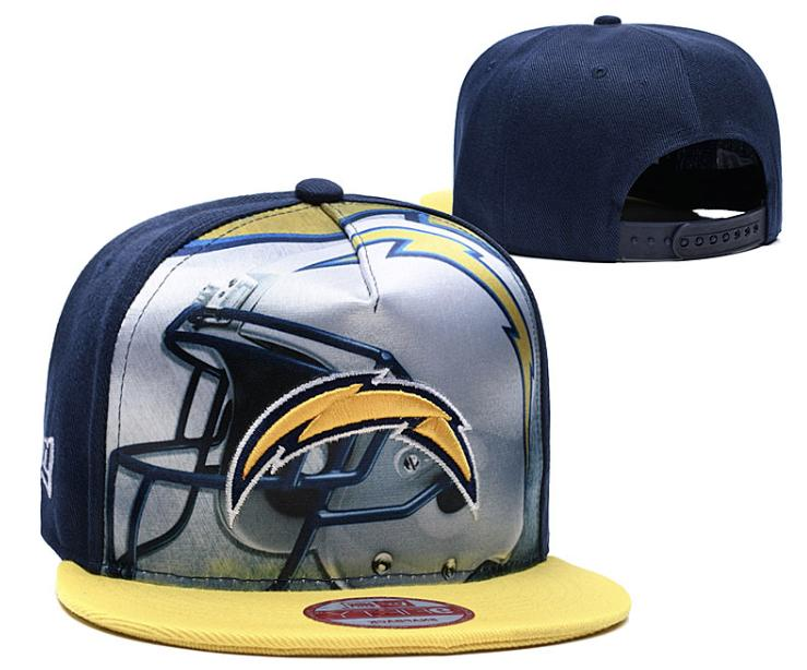 Los Angeles Chargers NFL Football Embroidered Hat Snapback A