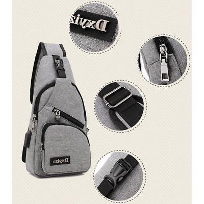 men backpack usb with charger port travel