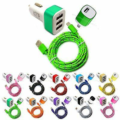 micro usb charging data sync cord car