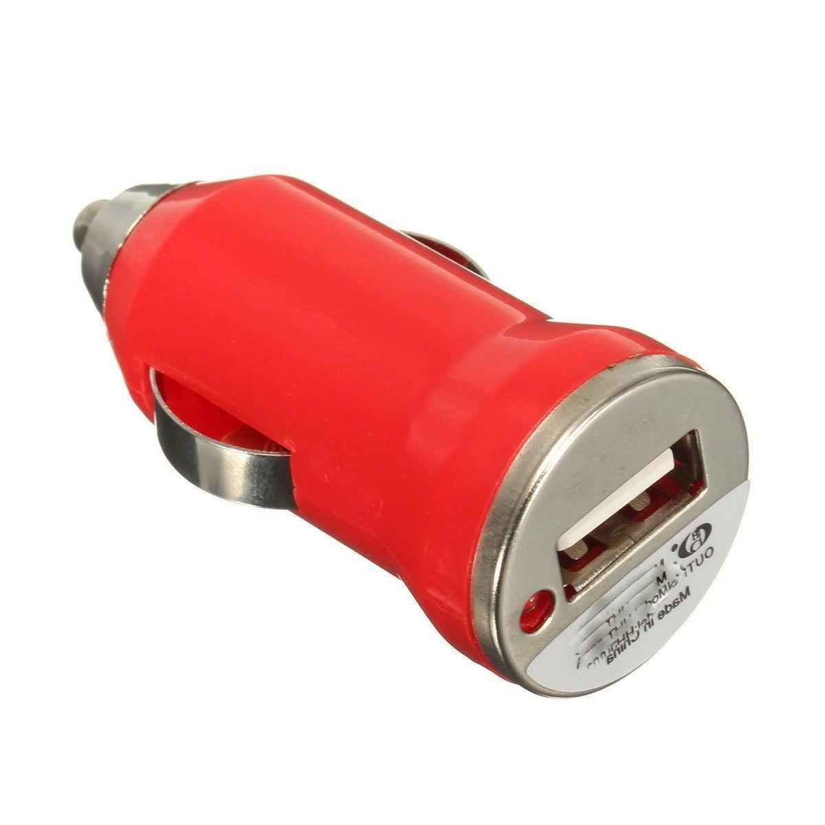 multi color usb cell phone car chargers