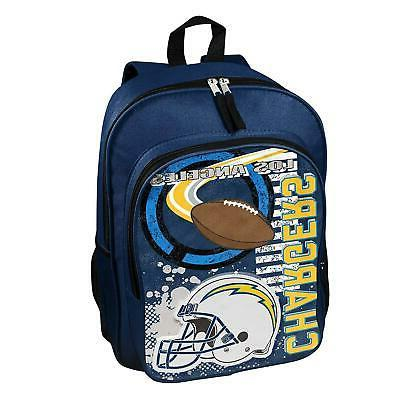 New NFL Los Angeles Chargers Boy / Girl / Kids School Backpa