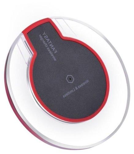 New Wireless Fast Charger Clear for Phones