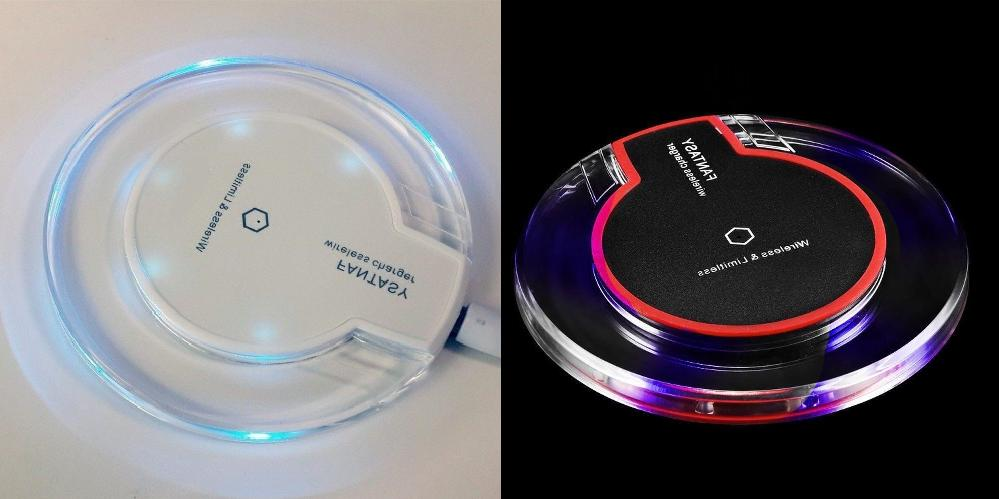 new qi wireless fast charger clear charging