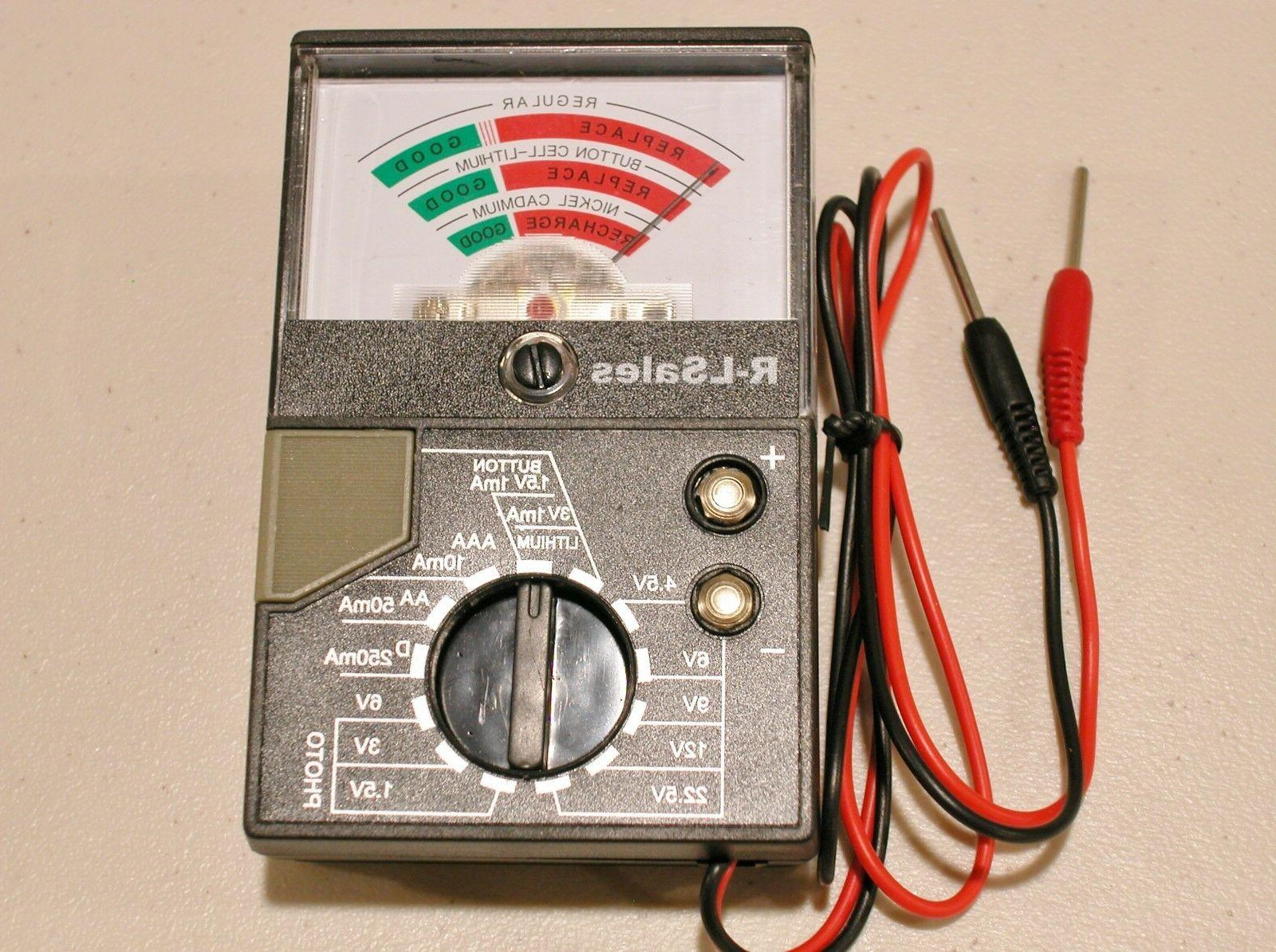new universal household battery tester button aa