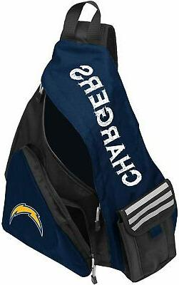 NWT NFL Los Angeles Chargers Leadoff Slingbag Sling School G