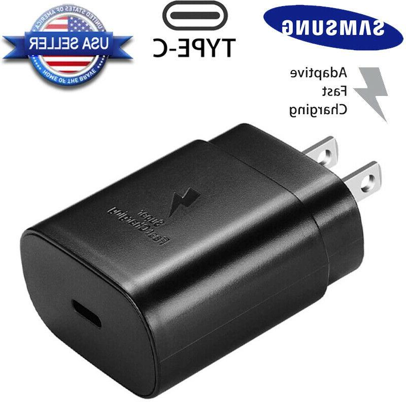 OEM 25W Fast Charger Dual USB Cable S20
