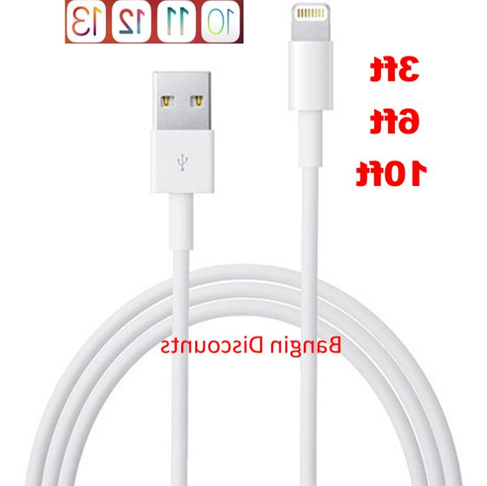 oem apple lightning usb charger cable