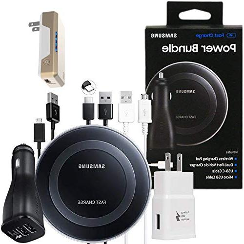 official fast qi wireless pad power bundle