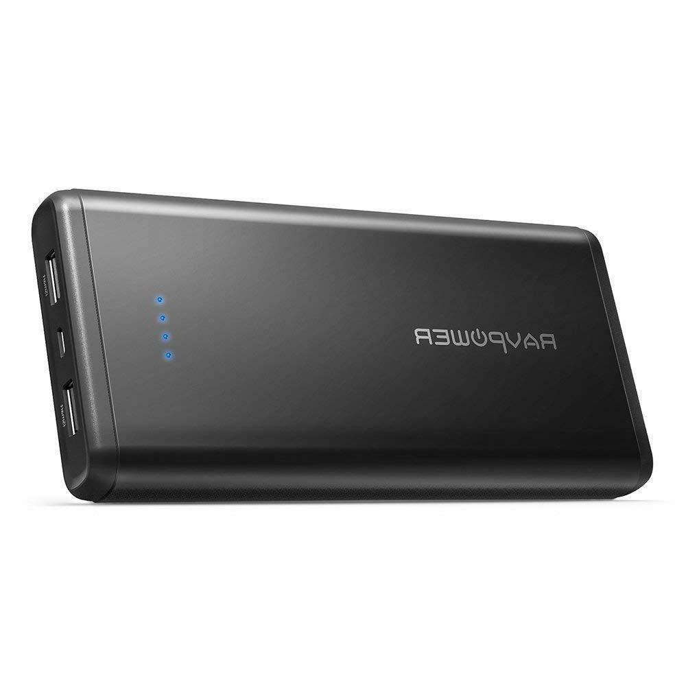 Portable Charger RAVPower 20000mAh USB External Battery Pack