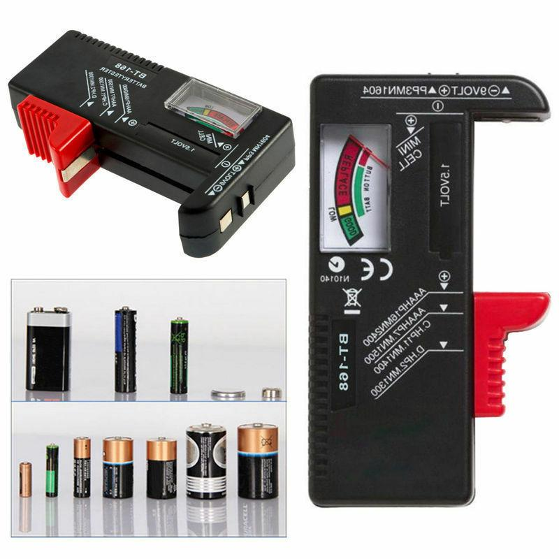 portable household battery checker for aa aaa