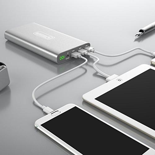 Portable Charger 3.0 Technology CHARGER | 20,000 mAh with 3 LED Touchscreen ON Switch, Smartphones, More!