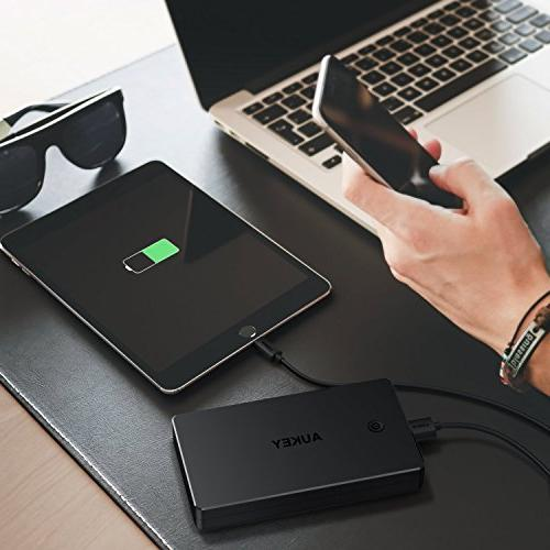 AUKEY Bank, Portable Inputs, 3.4A Battery Pack Compatible Xs/XS Max / Plus, and