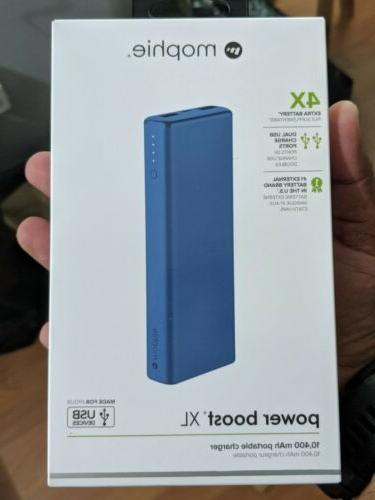 power boost xl charger 4x blue