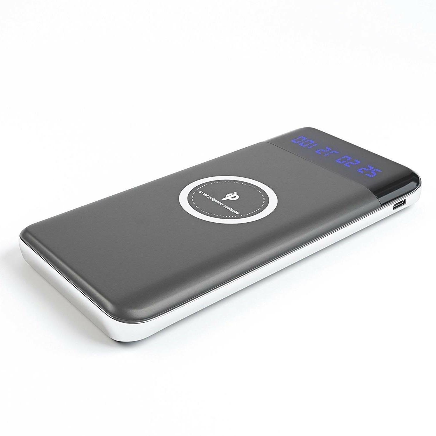 CoverON Qi Wireless Charger USB Power Bank for LG / ThinQ