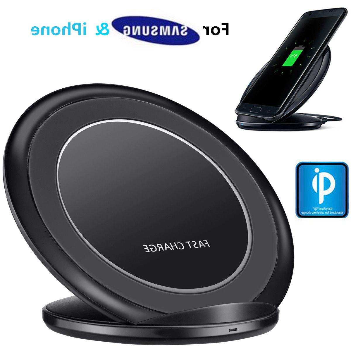 qi wireless fast charger charging