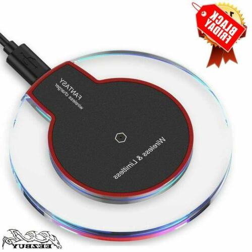 qi wireless fast charger pad charging dock