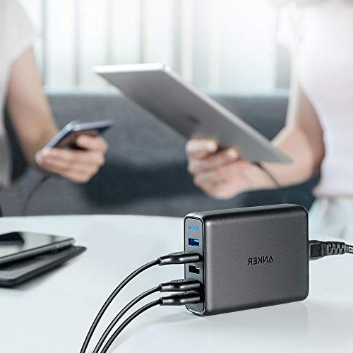 Anker 63W Charger, PowerPort for 8/7