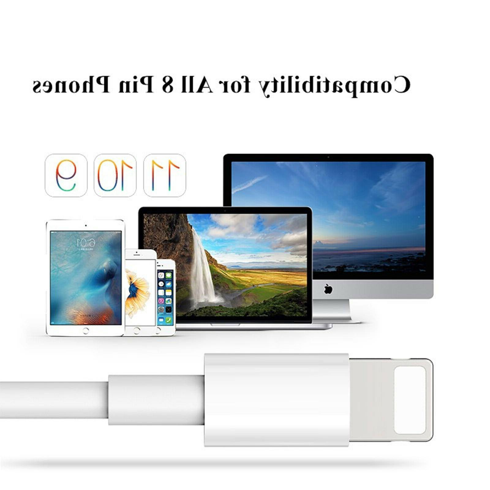 10 NEW USB Lightning For iPhone 5S Max