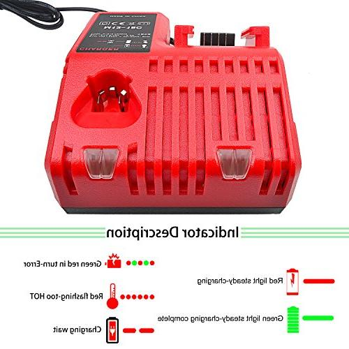 Replacement Multi Voltage Charger Dual Port for Battery