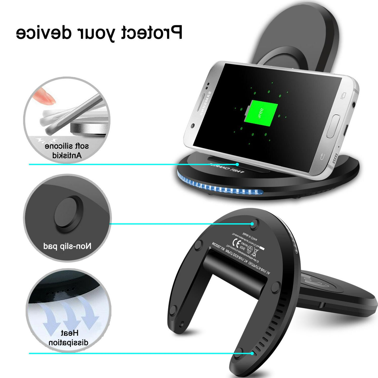 For S9/ Plus Qi Charger Stand