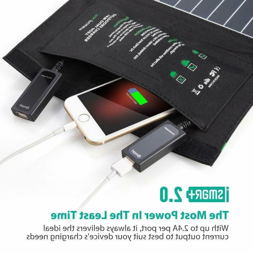 RAVPower Solar USB Port Waterproof
