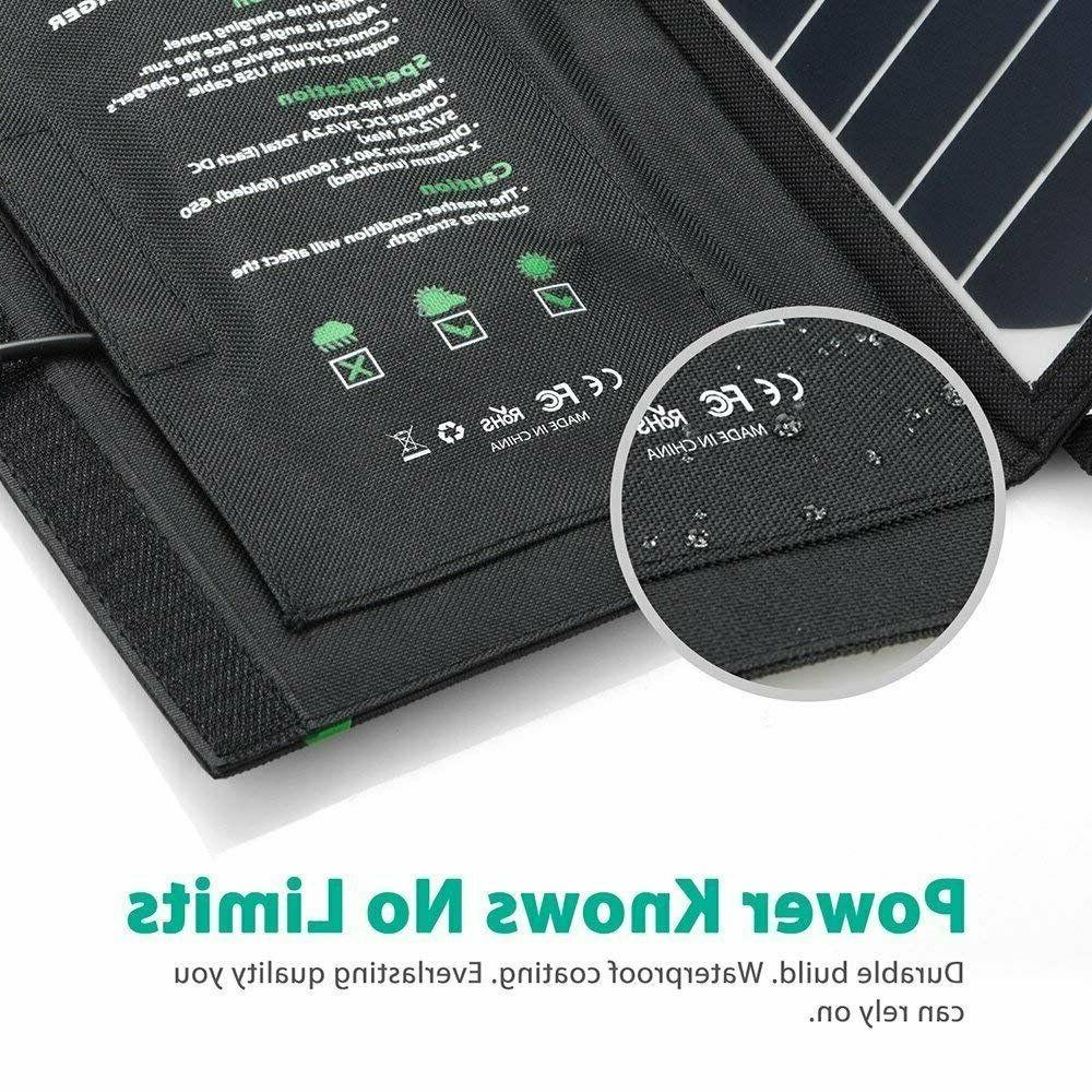 RAVPower Solar 16W Solar USB Waterproof