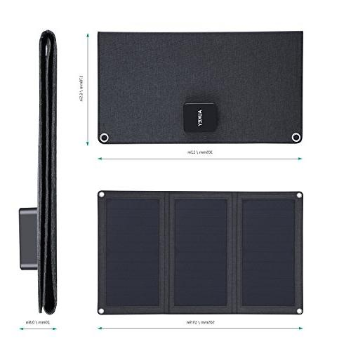 AUKEY with Foldable SunPower Ports Samsung and