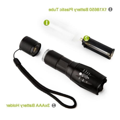 950000Lumens Flashlight Torch Light+Batt+Charger