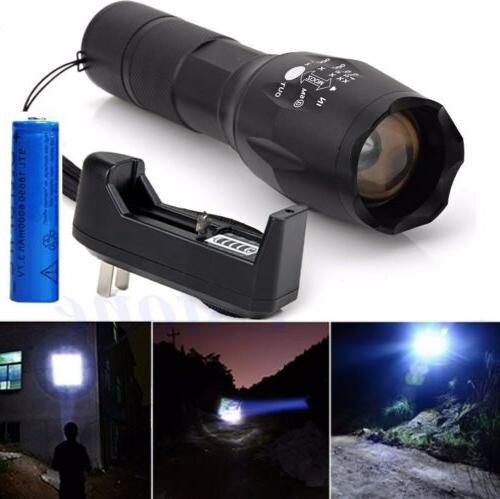 950000Lumens Powerful Flashlight