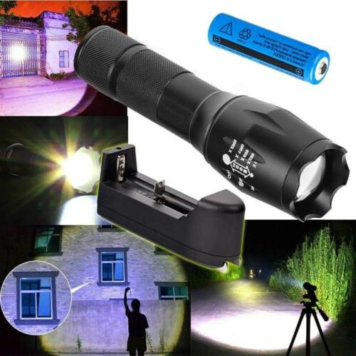 950000Lumens LED Military Powerful Flashlight